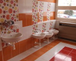kúpelne v detskom centre